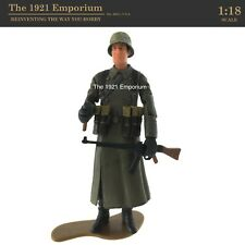 ✙ 1:18 21st Century Toys Ultimate Soldier WWII German Army Winter Infantry