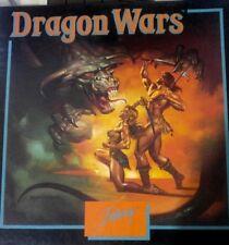Dragon Wars (Interplay 1989) C64 Disk (Box, Manuals, Poster, 3 Disks) 100 % ok