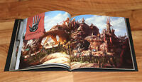 Rare Might & Magic Heroes VII ArtBook Art Book Ubisoft Collectible