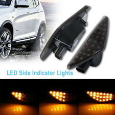 2X Dynamic Side Marker Indicator LED Lights For BMW X5 E70 X6 E71 X3 F25 LD2025