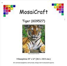 MosaiCraft Pixel Loisirs créatifs Mosaïque Art Kit 'Tigre' Pixelhobby