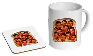 Mr Bean Beans On Toast Funny - Coffee / Tea Mug And Coaster Gift Set