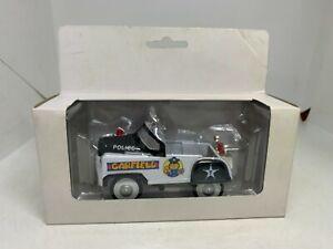 Golden Wheels by Jim Davis Diecast Model Garfield Pedal Car - Police - NEW