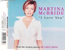 cd-single, Martina McBride - I Love You, 3 Tracks, Australia