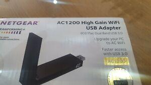 Netgear AC1200 Wifi USB Adapter (A6210)
