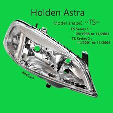 Holden Astra TS Sedan Hatch Chrome Head light Right Side 98 99 2000 01 02 03 04