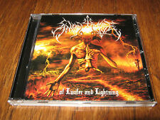 """ANGELCORPSE  """"Of Lucifer and Lightning"""" CD  revenge order from chaos"""