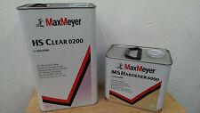 Max Mayer 0200 Clearcoat 5.0L + Fast Activator 2.5L
