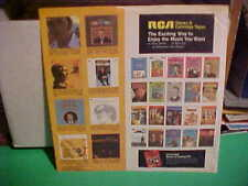 RCA RECORDS INNER SLEEVE ART ONLY NO RECORD 12 INCH 21-112-1-43L