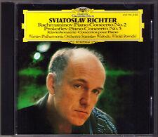 Sviatoslav Richter: Rachmaninov No. 2 PROKOFIEV 5 DG CD WISLOCKI ROWICKI Concerto
