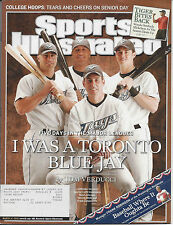 "Sports Illustrated 3/14/2005 ""I Was a Toronto Blue Jay"" Five Days in the Majors"
