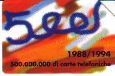 C&C N° 2414 - 500 MILIONI DI CARTE - LIRE 5.000 - USATA