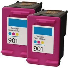 2pk 901 CC656AN Color Remanufacture Ink For OfficeJet G510a G510g G510n 4500