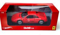Ferrari 348 TB Red 1/18 Scale Model 1:18 Hot Wheels