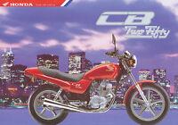 1011HONMO Honda CB250 Prospekt 1996 1/96 brochure prospectus prospecto prospetto