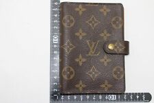 Louise Vuitton monoguram Agenda Pm R20005 used (h-50268