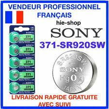 2 PILES SR920SW / 371-SR920SW 1.55V / SONY / ENVOI RAPIDE SONY X2