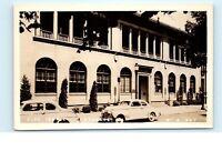 Elks Temple Building Old Cars Spokane Washington Vintage Real Photo Postcard C11