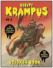 Krampus Sticker Book #2 by Monte Beauchamp (2015, Paperback)
