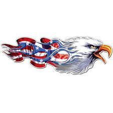 American Eagle Flag Wings Sticker Decal Ships from USA car bike bumper macbook