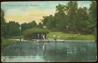 Mitchell Park Milwaukee, Wisconsin Boat House Conservatory Lot of Two Postcards