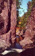 THE BAD RIVER GORGE, COPPER FALLS STATE PARK, MELLEN, WI