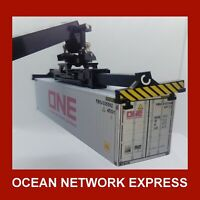ONE Ocean Network Express (Grey) 40ft x 4 Buy Now & FREE 20ft HO Gauge 1:87