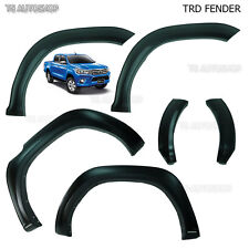 Trd Genuine Black Fender Flears Arches Toyota Hilux Revo 4 Doors M70 M80 2015-16