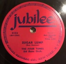 "78rpm [1953] Doo-Wop Four Tunes ""SUGAR LUMP / I UNDERSTAND"" on JUBILEE 5132 (E)"