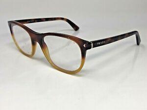 PRADA VPR17R TKU-1O1 Eyeglasses Frame Italy 54-19-145 Light Tortoise/Clear  MR75