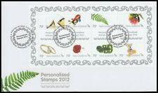 NEW ZEALAND 2012 PERSONALISED STAMPS MINI SHEET SHTLET OF 10x70c STAMPS(ID:F2438