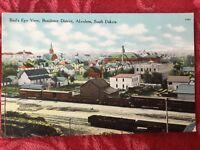 1912 Aberdeen, South Dakota Postcard- Bird's Eye View Residence District
