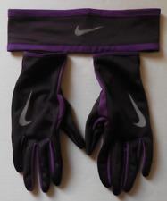 NIKE Dri-Fit Women's Running Headband/Glove Set 2.0 Size M/L New