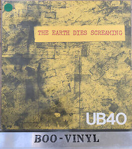 "UB40 - The Earth Dies Screaming  Rare Japanese Press 12"" Vinyl Record EX / EX"
