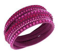 5124127 Swarovski Slake Deluxe Bracelet fuchsia , Crystal Authentic MIB