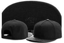 Hot  Hip Hop Men's CAYLER Sons adjustable Baseball Snapback Black Hat Cap 50#