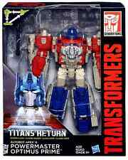 TRANSFORMERS TITANS RETURN LEADER CLASS FIGURE AUTOBOT OPTIMUS PRIME & APEX