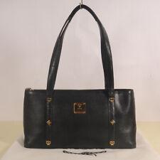 MCM Leather Tote Shoulder Bag Authentic + Dust Bag