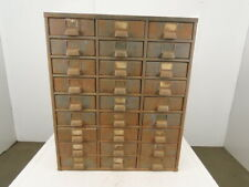 27-Drawer Industrial Small Parts Tool Storage Shop Cabinet 30-1/2x13-1/2x36-5/8