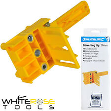 Silverline Dowelling Jig Wood Drill E L T Joints 6 8 10mm Quick Dowel Drilling