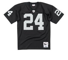 Mitchell and Ness Raiders #24 Charles Woodson Black Team Throwback Jersey