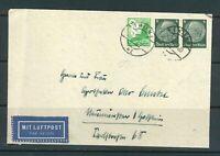 Deutsches Reich - Mi-Nr. 2x 516 + 529 Luftpost Bedarfsbrief abgestempelt in Wien