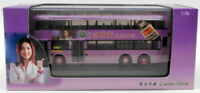 MBE 1/76 Scale Model Bus MB106 - Dennis Dragon Duple Citybus - Hong Kong