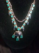 Style Necklace Green Vintage