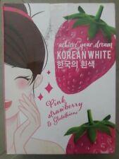 ❤️🇬🇧KOREAN WHITE PINK STRAWBERRY & GLUTATHIONE WHITENING SOAP❤️🇬🇧