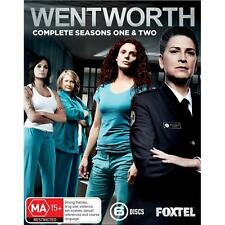 Wentworth The Complete Seasons Series 1 & 2 blu ray Box Set R4 New Sealed