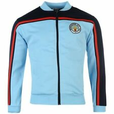 Official RETRO Score Draw Football Soccer Manchester Mens Track Jacket XL A13131