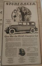 Dec 4, 1927 Newspaper Page #7710- Studebaker- The Great Independent