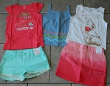 Size 8 years outfits Gymboree,Desert Dreams,NWT,tops,shorts,skirt,5 pc. set
