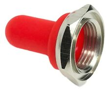 Toggle Switch Waterproof Red Rubber Boot Guard Or Cover With Hex Nut